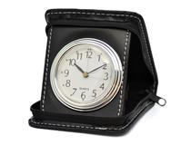 SQUARE CASE TRAVEL CLOCK BLACK