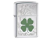 24699 LUCKY FOUR LEAF CLOVER- H/P CHROME
