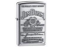 250JB 928 JIM BEAM LABEL PEWTER
