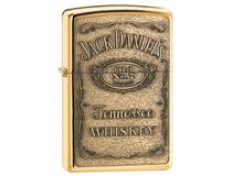 254 BJD.428 JACK DANIELS LABEL-BRASS