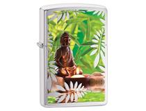 29058 BUDDHA GARDEN - BRUSHED CHROME