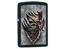 28882 SHREDDING SKULLS - BLACK MATTE