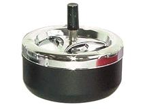 955 - 13cm SPINNING ASHTRAY BLACK
