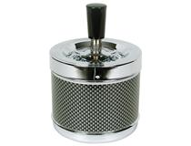 SPINNING CARBON FIBRE ASHTRAY LARGE