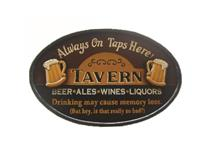 WALL PLAQUE TAVERN