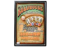 WALL PLAQUE ROADHOUSE CASINO