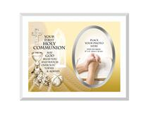 GLASS FRAME YOUR FIRST HOLY COMMUNION