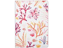 Handmade Jrnl LG Embd Embroidered Coral