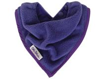 FLEECE BANDANA BIB PURPLE