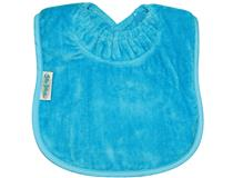 TOWEL PLAIN LARGE BIB AQUA