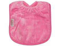 TOWEL PLAIN LARGE BIB CERISE