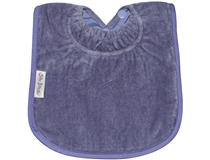 TOWEL PLAIN LARGE BIB LILAC