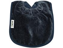 TOWEL PLAIN LARGE BIB NAVY