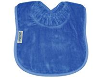 TOWEL PLAIN LARGE BIB ROYAL