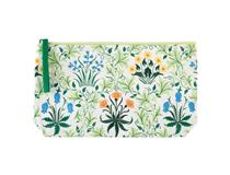 Pouch Embroided Celandine - W Morris
