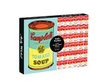 Puz 500 Andy Warhol Soup Can 2-Sided