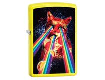 29614 PIZZA CAT - NEON YELLOW