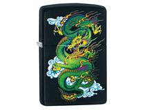 29839 Black Matte Green Dragon