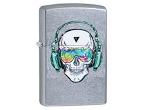 29855 Street Chrome Skull Headphones